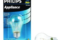 40 Watt A15 Incandescent Clear Appliance Light Bulb 416768 The within proportions 1000 X 1000