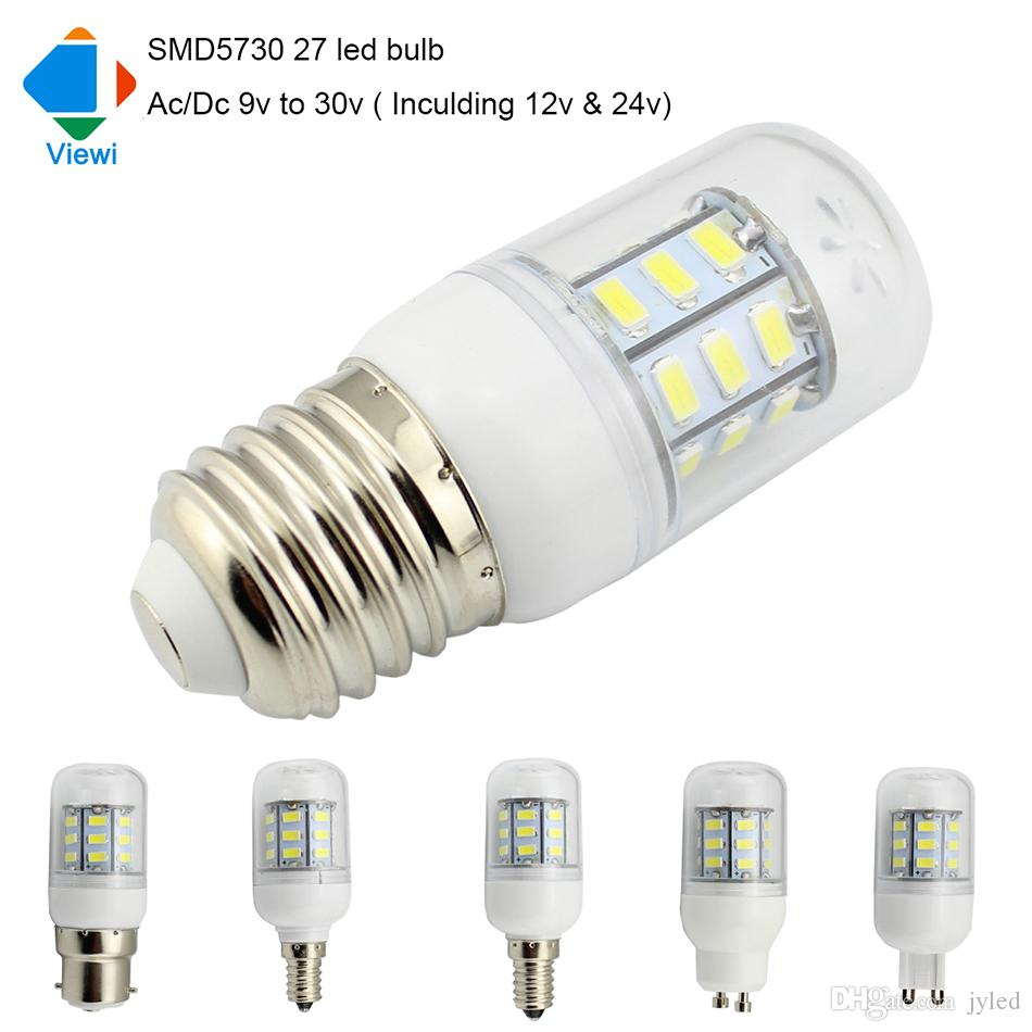 5x Ampoule Led Lamp Ac Dc 12 Volt E27 E12 E14 G9 Gu10 Light Bulb 12v with dimensions 950 X 950