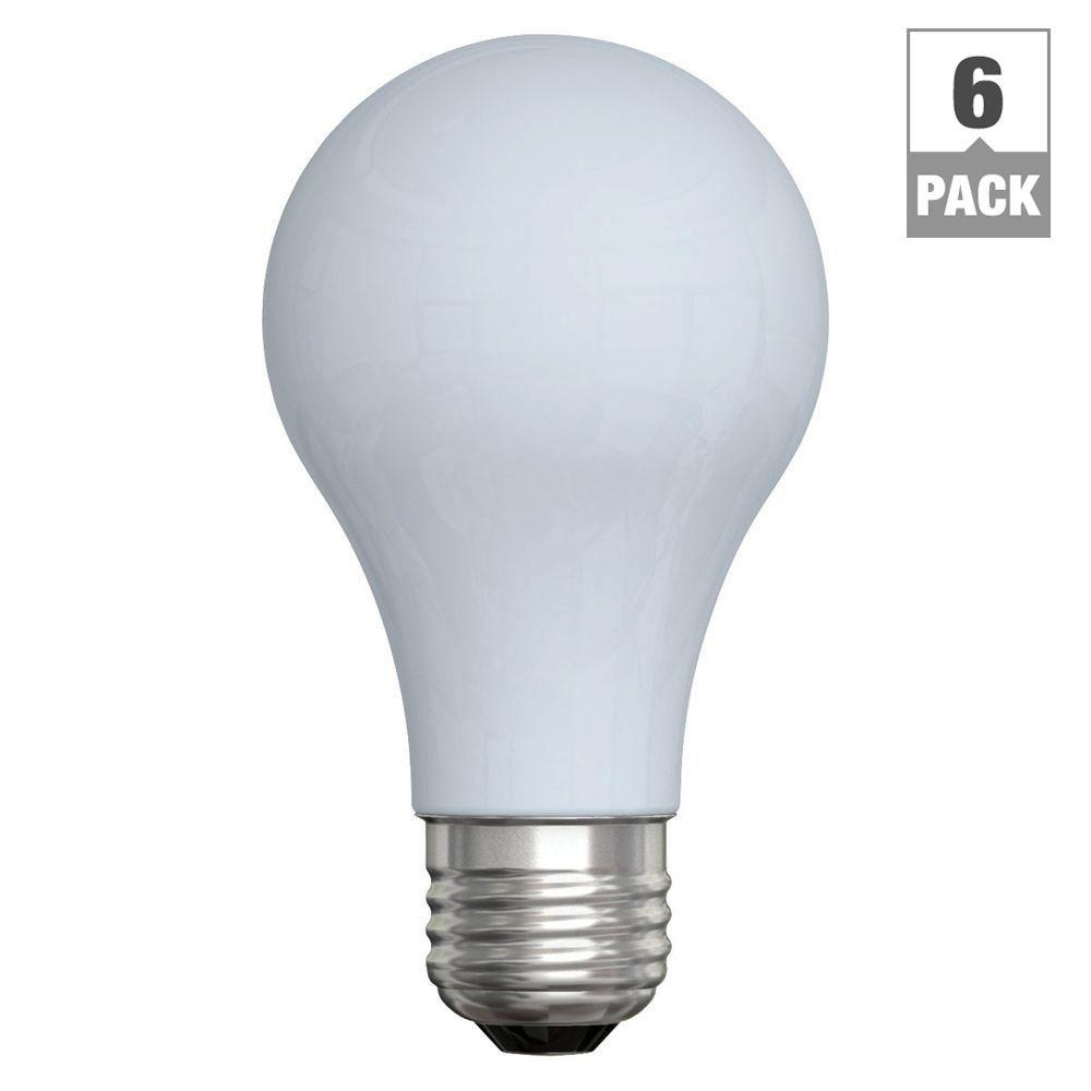Ge Reveal 60 Watt Incandescent A19 Reveal Light Bulb 6 Pack 60a intended for size 1000 X 1000