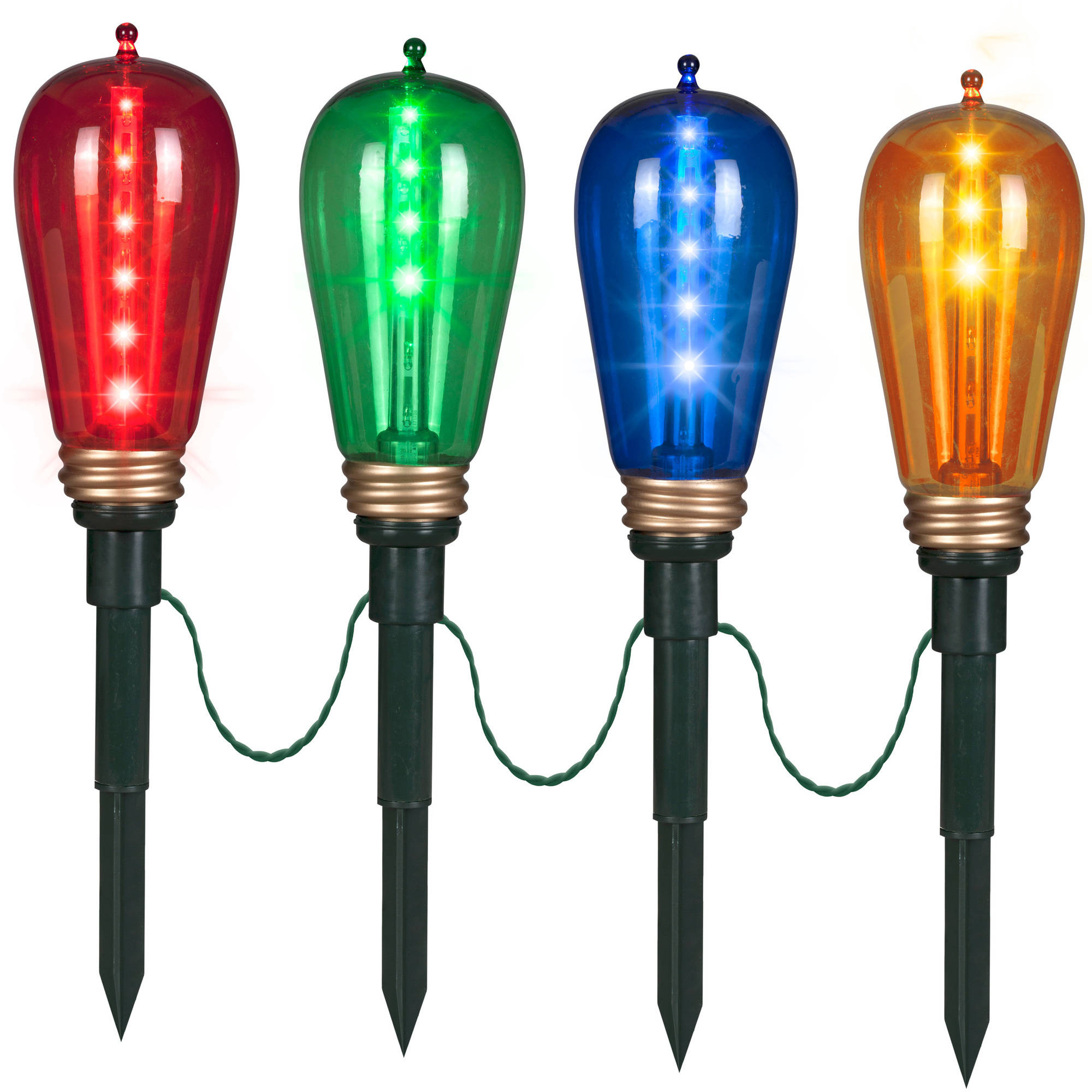 gemmy christmas lights shooting star pathway stakes edison style with regard to sizing 2000 x 2000