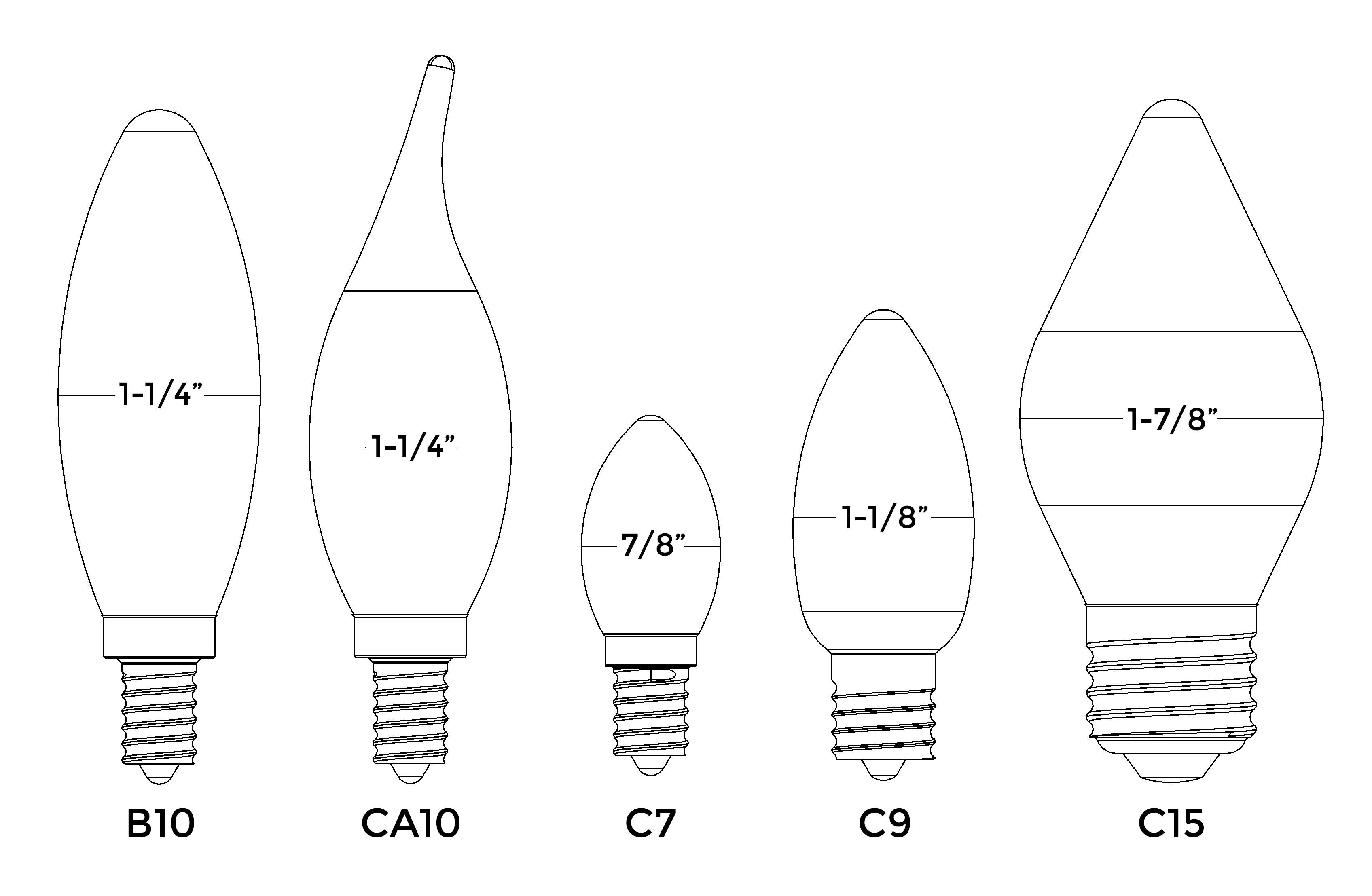Type C Light Bulb Base Bulbs Ideas