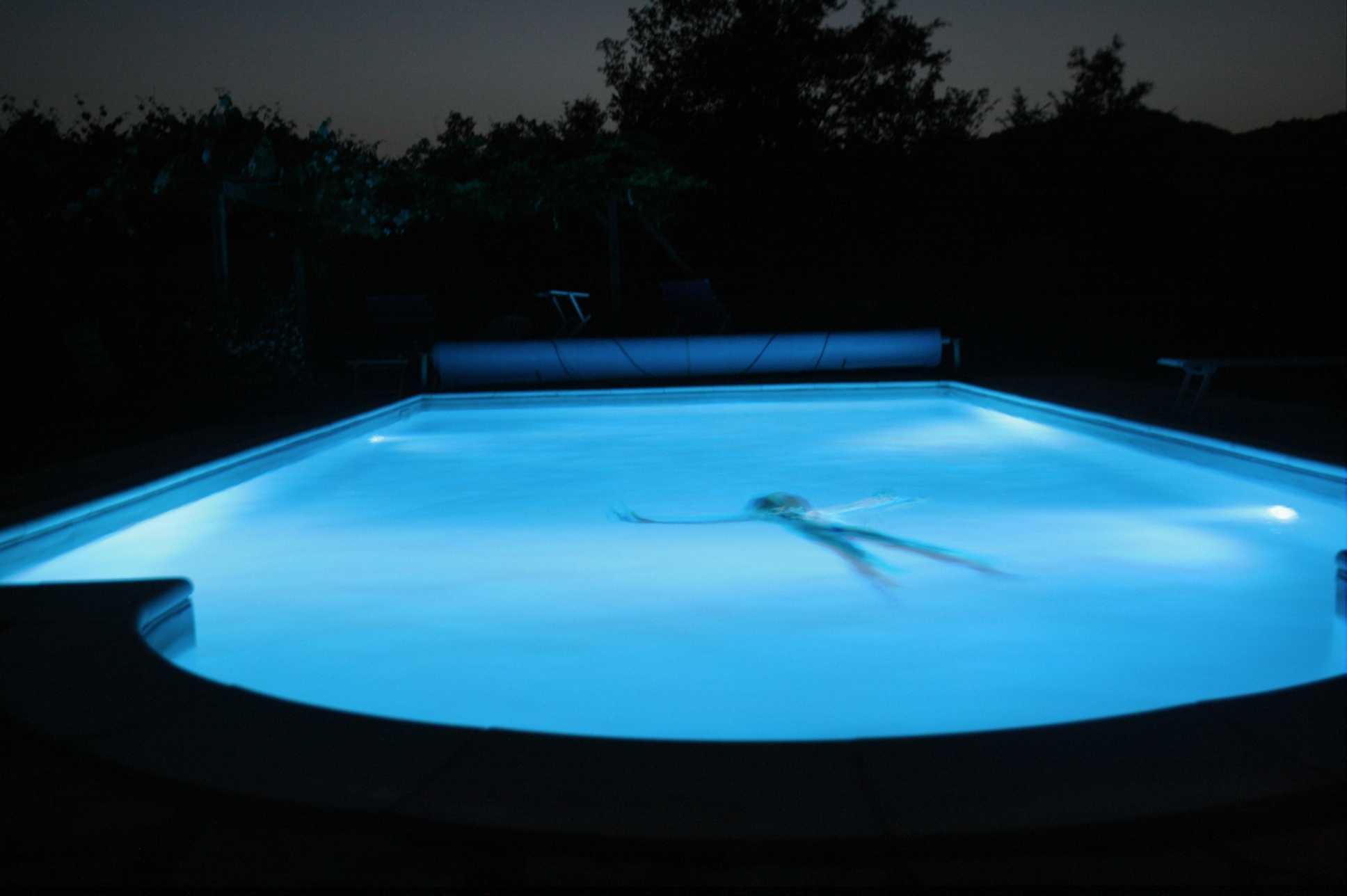 Inspirational Swimming Pool Light at