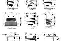 Light Bulb Size Chart Regarding Home Housestclair with measurements 1298 X 1404