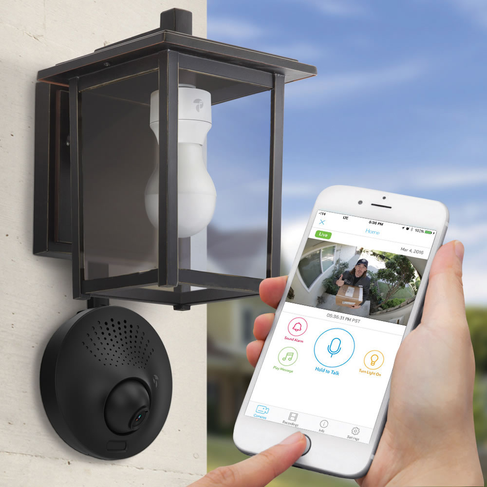 Outdoor light bulb security camera wifi bulbs ideas light socket powered wi fi security camera the green head throughout size 1000 x 1000 aloadofball Image collections