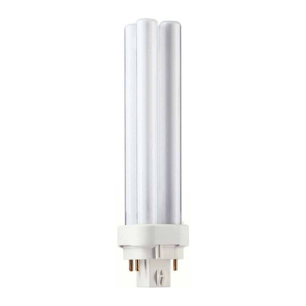 Philips 13 Watt G24q 1 Pl C 4 Pin Energy Saver Cfl Non Integrated with regard to measurements 1000 X 1000