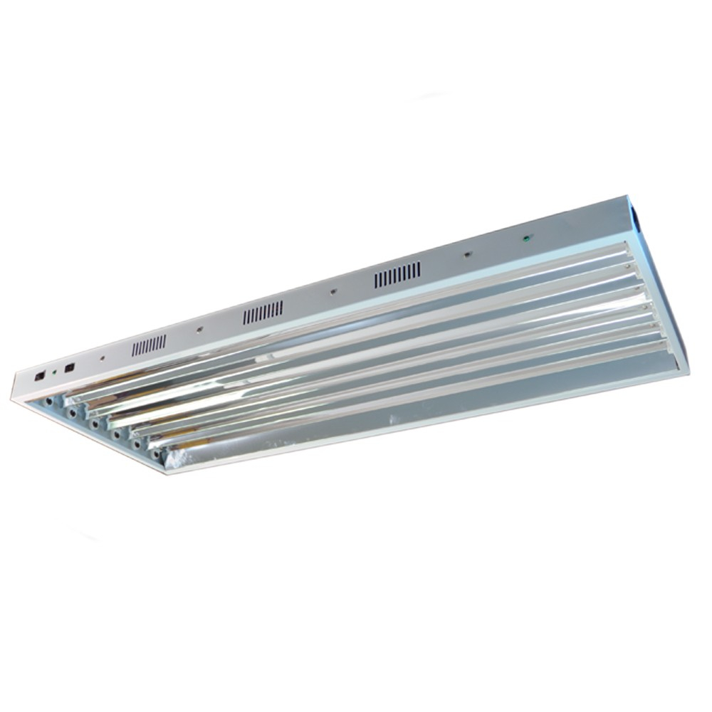Standard T5 4 Foot 6 Bulb Fixture Without Bulbs for sizing 1000 X 1000