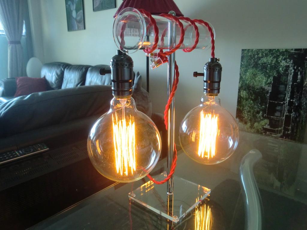 Vintage Style Edison Light Bulb Table Lamp Igor Kromin for size 1024 X 768