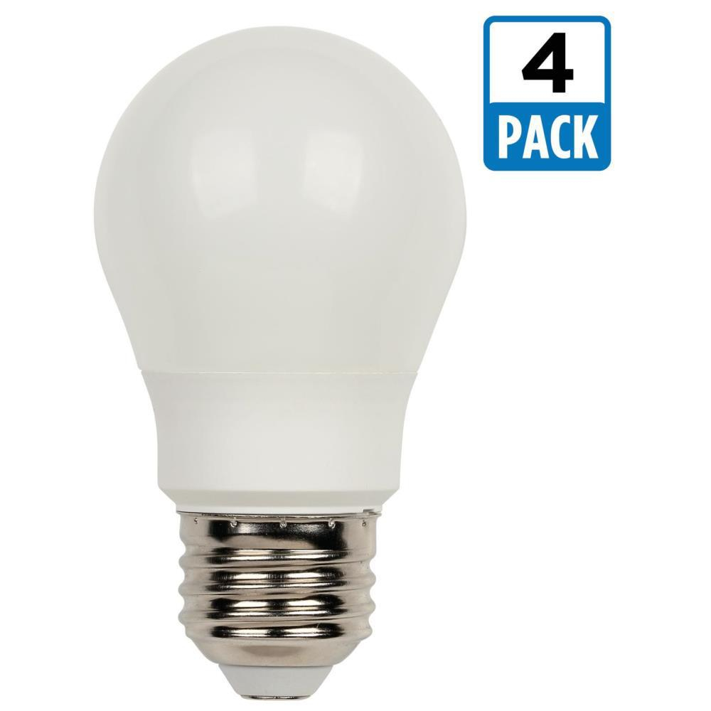 Westinghouse 60w Equivalent Soft White A15 Led Light Bulb 4 Pack for proportions 1000 X 1000