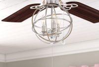 Gracie Oaks 3 Light Led Globe Ceiling Fan Light Kit Reviews Wayfair pertaining to proportions 2000 X 2000