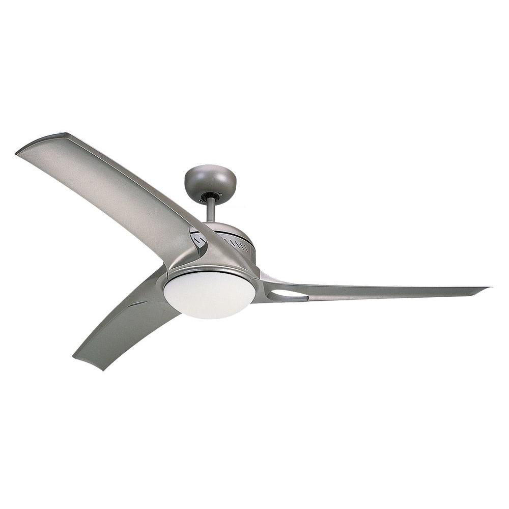 Monte Carlo Mach One 52 In Titanium Finish Ceiling Fan With 3 regarding dimensions 1000 X 1000