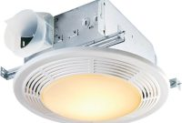 Nutone Decorative White 100 Cfm Ceiling Bathroom Exhaust Fan With inside size 1000 X 1000