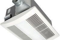 Panasonic Whisperwarm 110 Cfm Ceiling Exhaust Bath Fan With Light with regard to measurements 1000 X 1000
