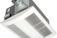 Panasonic Whisperwarm 110 Cfm Ceiling Exhaust Bath Fan With Light within sizing 1000 X 1000