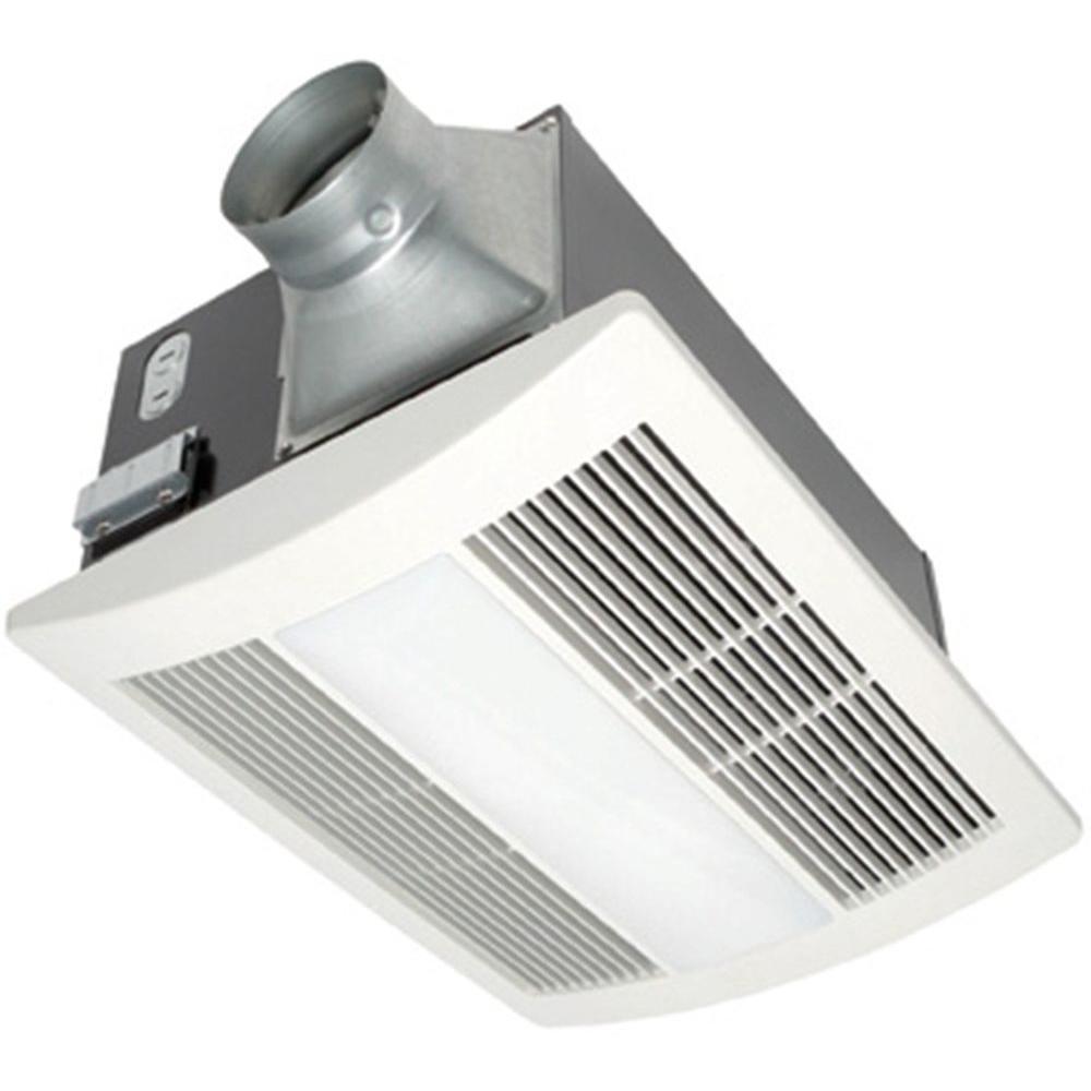 Panasonic Whisperwarm 110 Cfm Ceiling Exhaust Bath Fan With Light within sizing 1000 X 1000