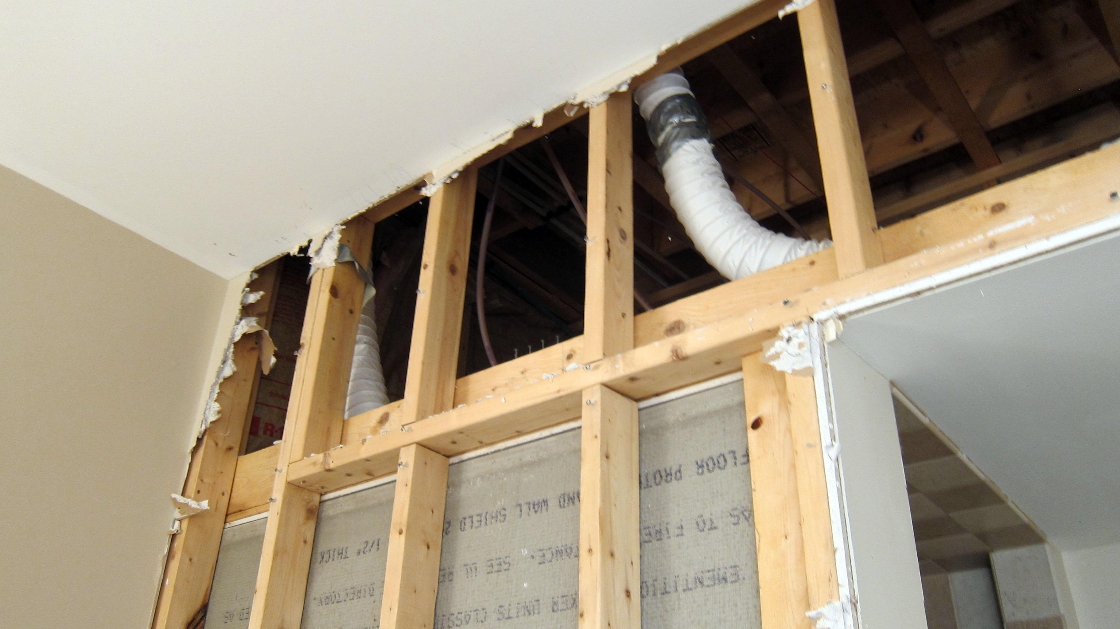 Poorly Installed Bath Fan Vents Can Cause Serious Problems The with regard to proportions 3648 X 2048