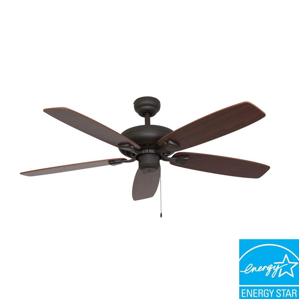 Sahara Fans Charleston 52 In Bronze Energy Star Ceiling Fan 10032 inside dimensions 1000 X 1000