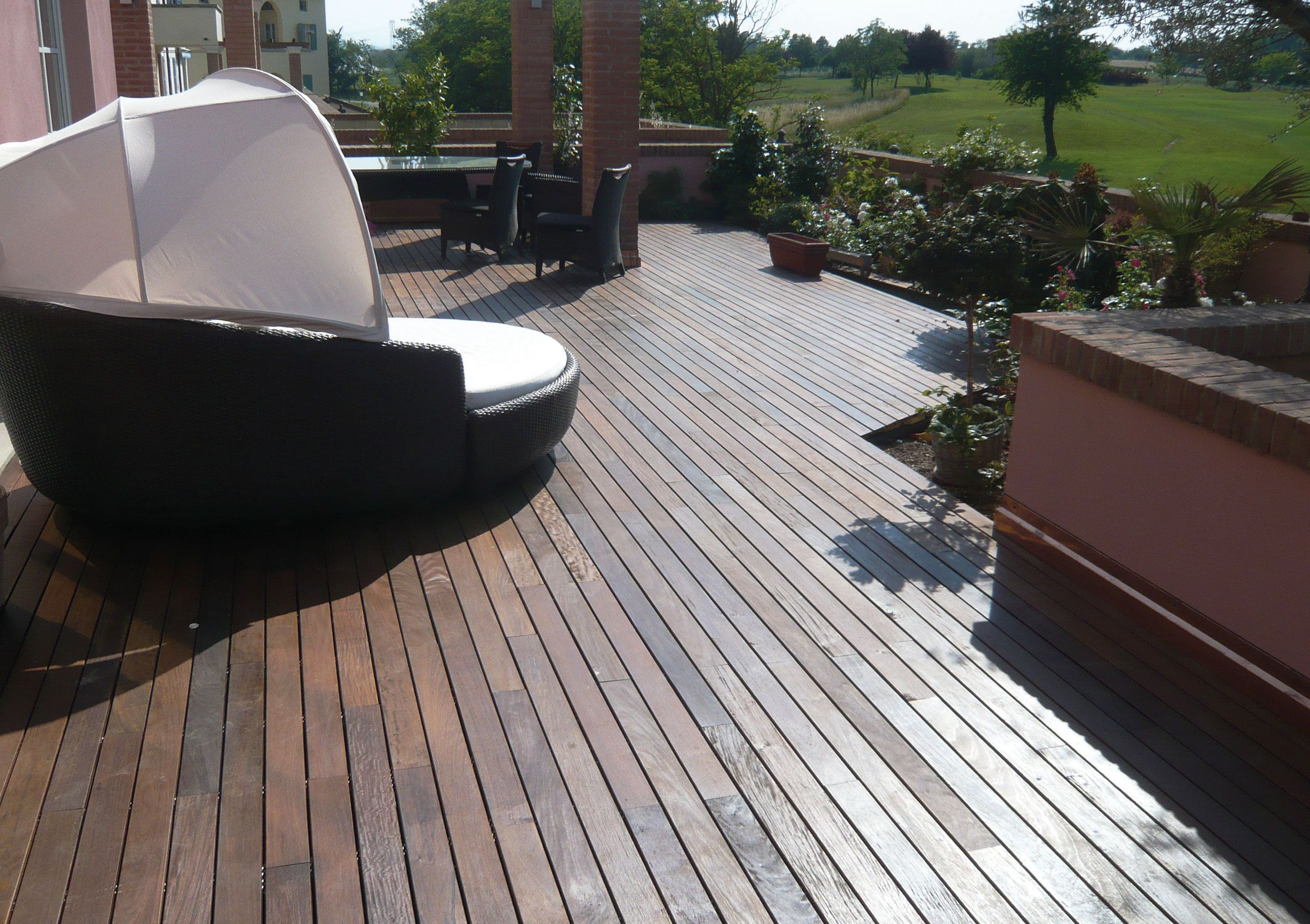 10 Ft Composite Patio Decking 10 Ft X 20 Ft Deck Kit Outdoor Wpc throughout size 2560 X 1806