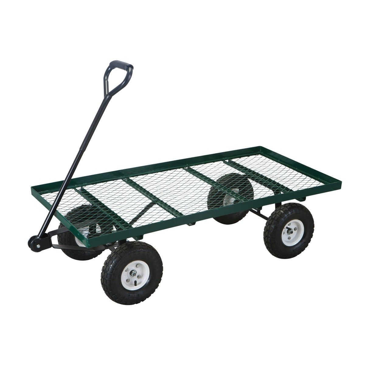 1000 Lb Mesh Deck Steel Wagon In 2019 Home Garden Garden Cart pertaining to proportions 1200 X 1200