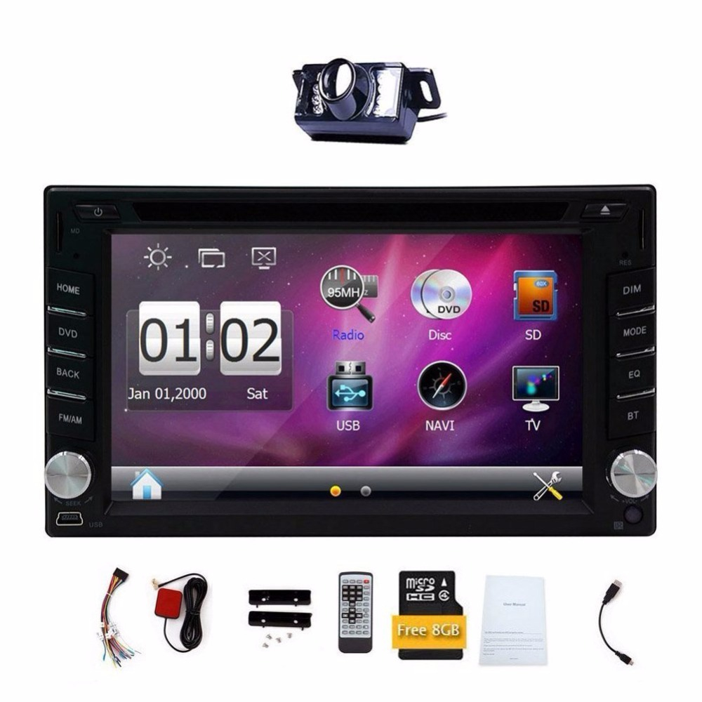 2 Din Digital Touch Screen Car Dvd Player Gps Navigation Car Stereo inside dimensions 1000 X 1000