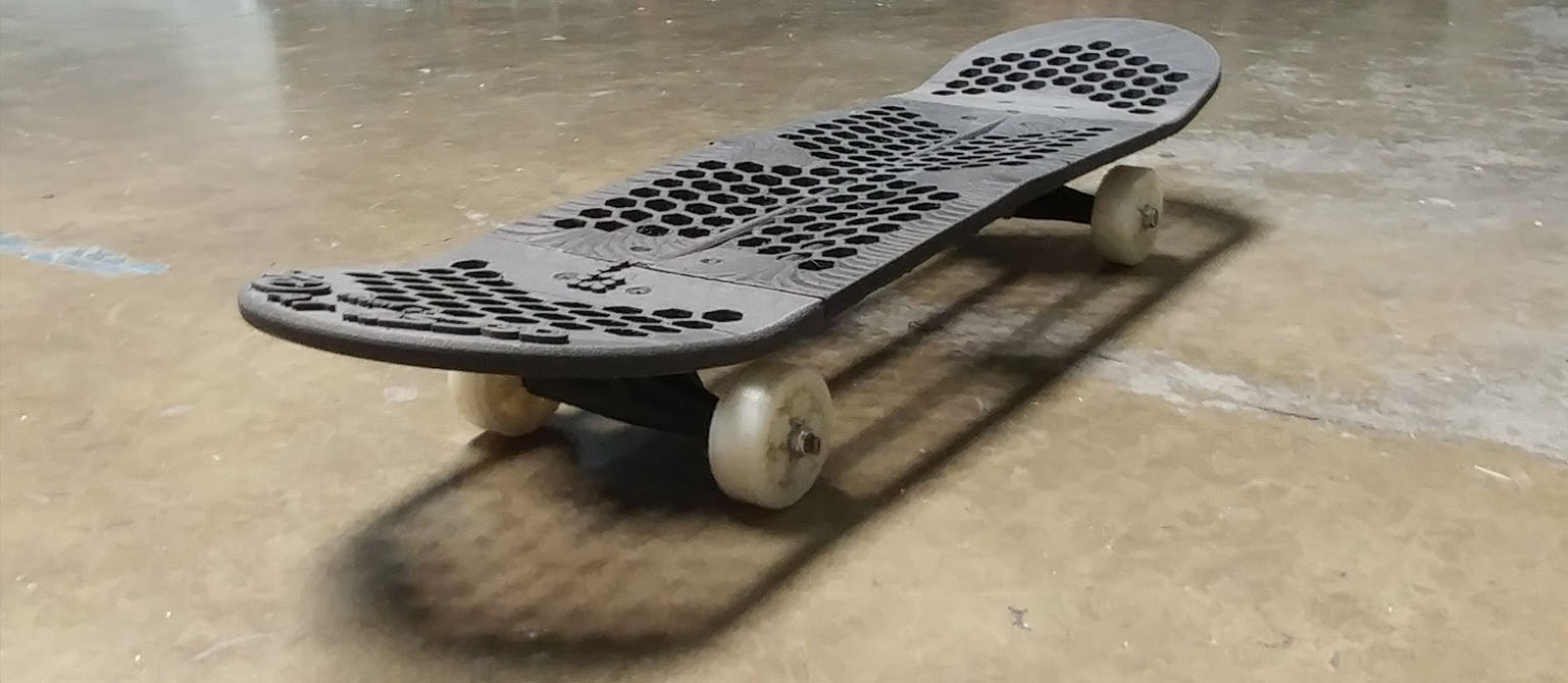 3d Printed Complete Skateboard Sd3d Printing with regard to size 1537 X 670