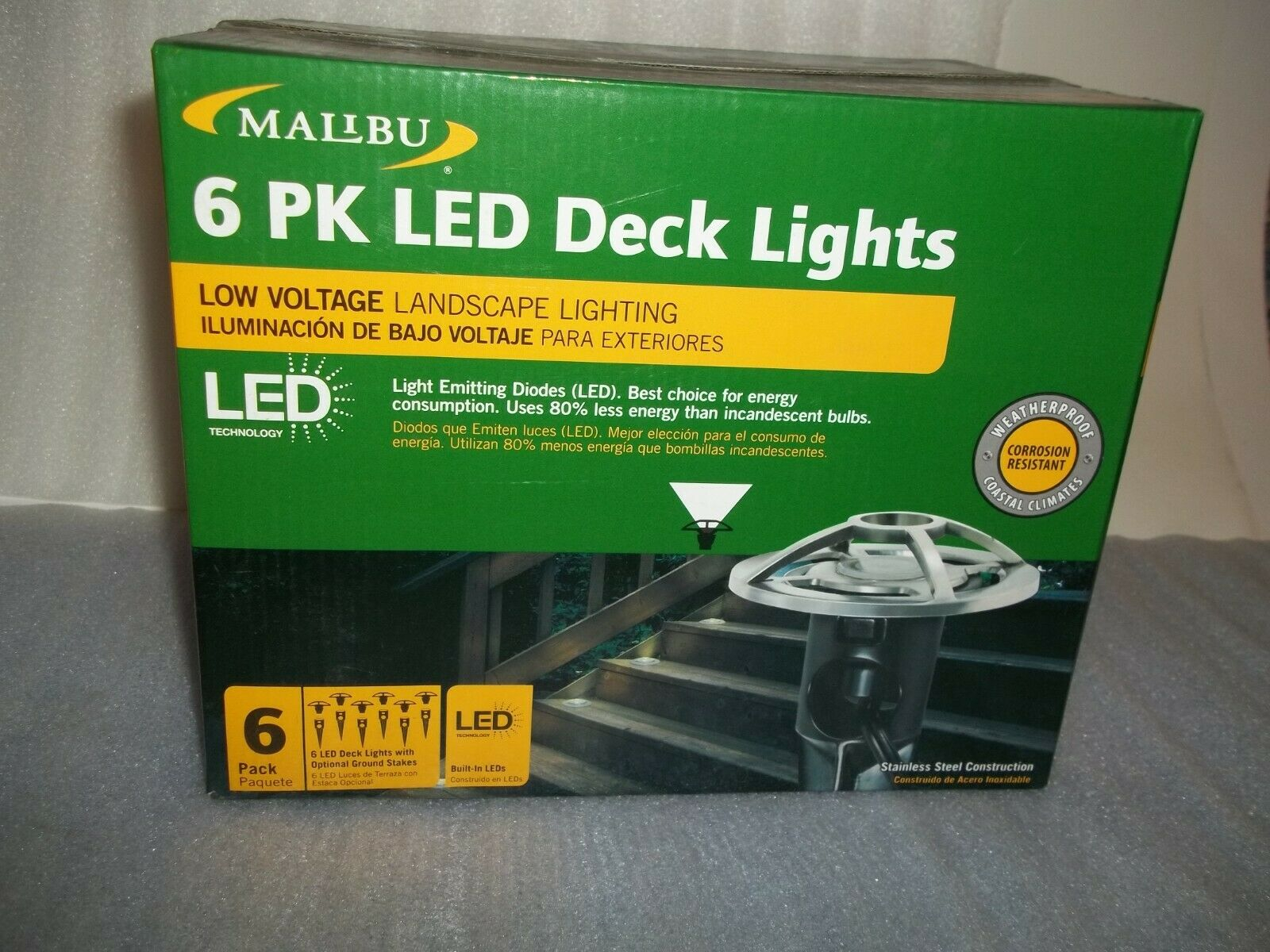 8411 3410 06 Malibu Lighting Low Voltage Led Stainless Steel Deck pertaining to size 1600 X 1200