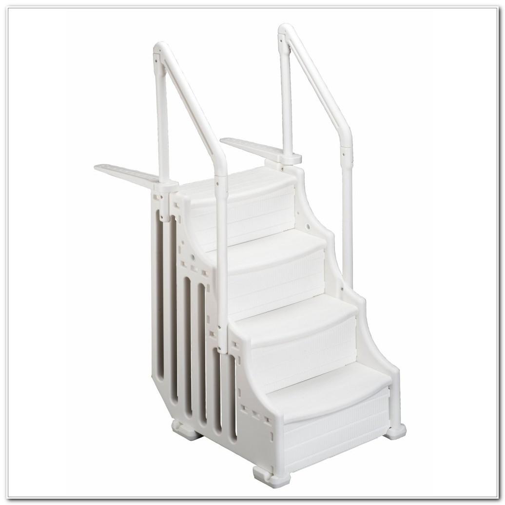Above Ground Pool Ladder Deck Flange Decks Home Decorating Ideas in size 1036 X 1036