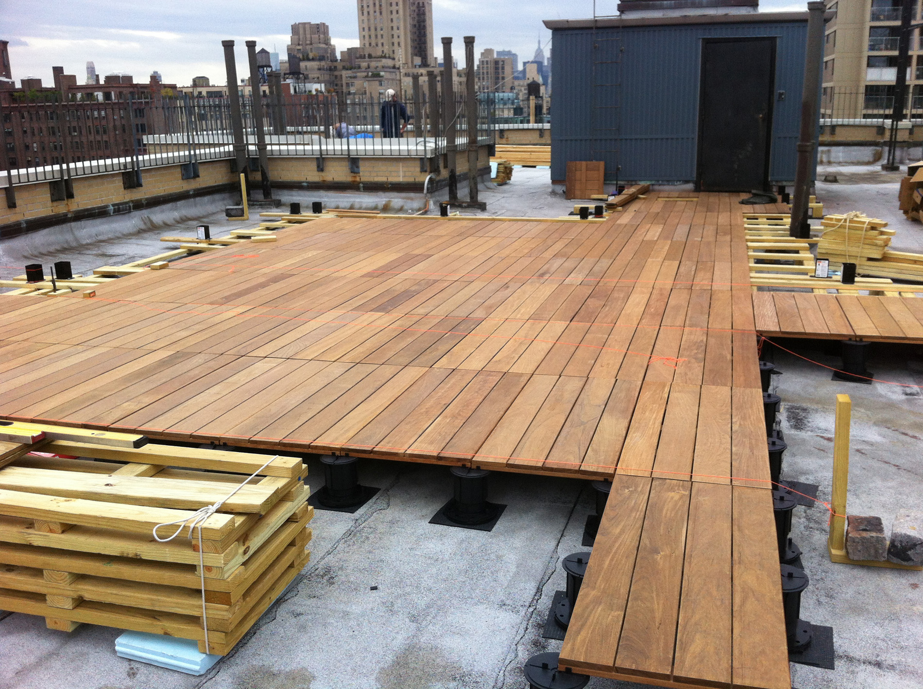 Adjustable Pedestal Decking Systems All Decked Out in size 1900 X 1419