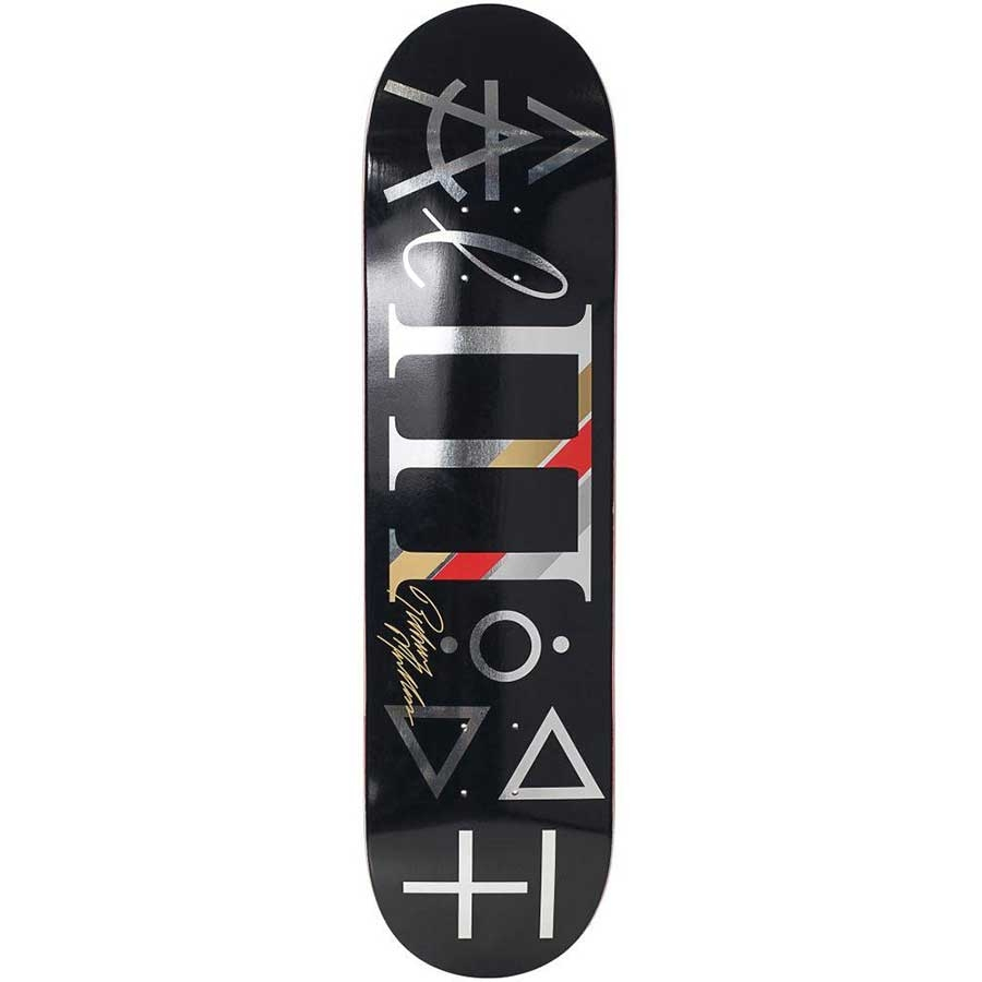 Almost Skateboards Almost Rodney Mullen Uber Supreme Deck Black 8x316 with sizing 900 X 900