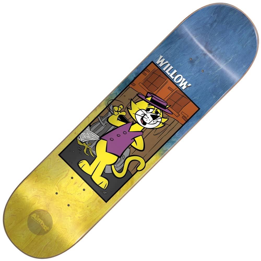 Almost Skateboards Willow Top Cat Fade Skateboard Deck 80 pertaining to sizing 1000 X 1000