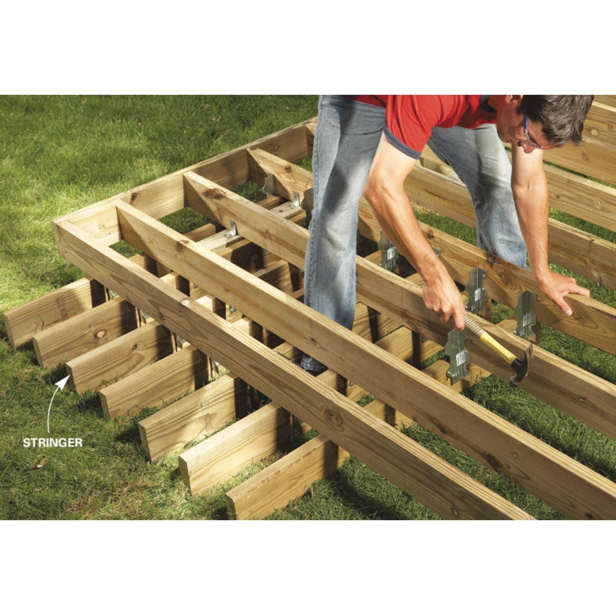 Backyard Decks Build An Island Deck Family Handyman regarding size 1200 X 1199