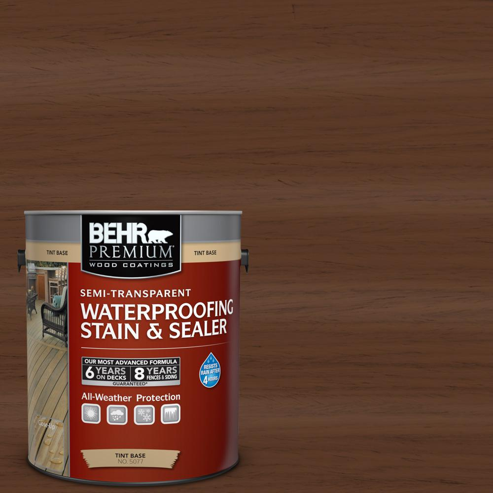Behr Premium 1 Gal St 135 Sable Semi Transparent Waterproofing regarding proportions 1000 X 1000