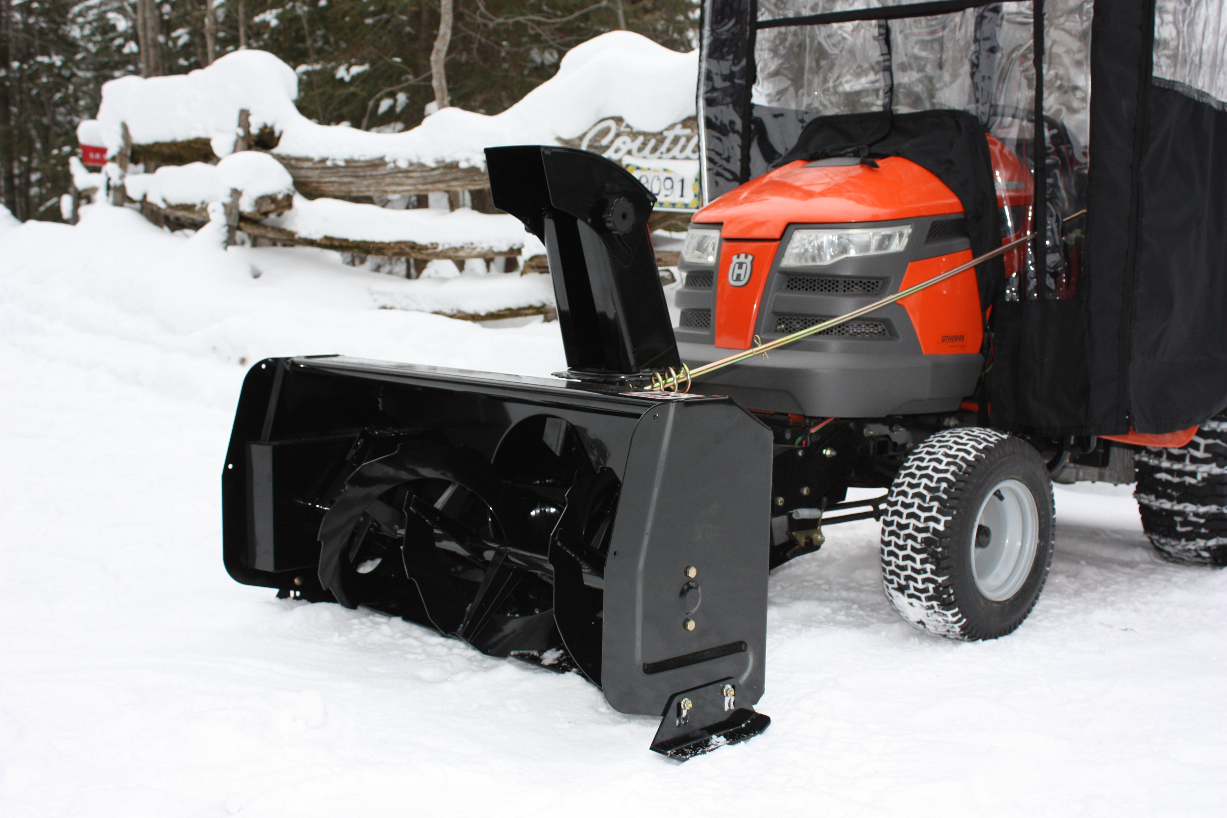 Berco 40 Compact Snowblower With Electric Lift System pertaining to proportions 4272 X 2848