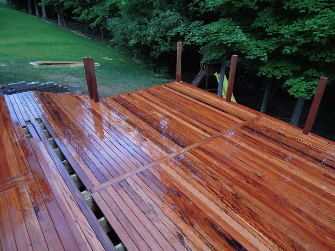 Brazilian Tigerwood Deckanderson Township Oh Area with regard to dimensions 1066 X 800