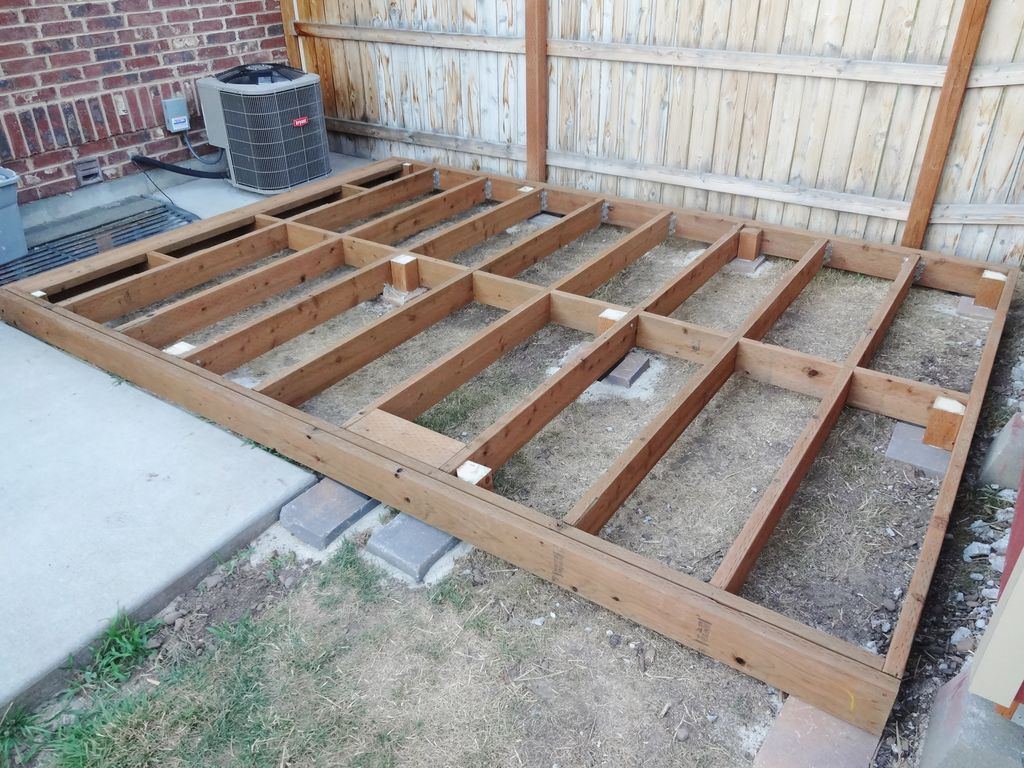 Build A Floating Deck 13 Steps With Pictures pertaining to size 1024 X 768