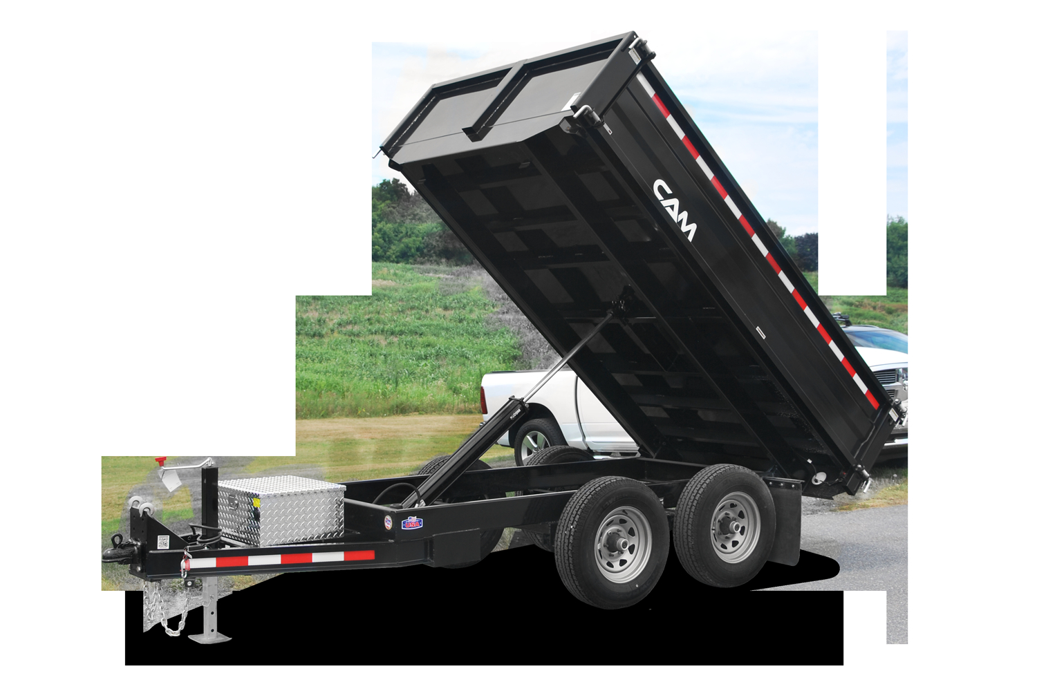 Cam Superline Deckover Dump Trailer Cam Superline regarding measurements 1500 X 1000