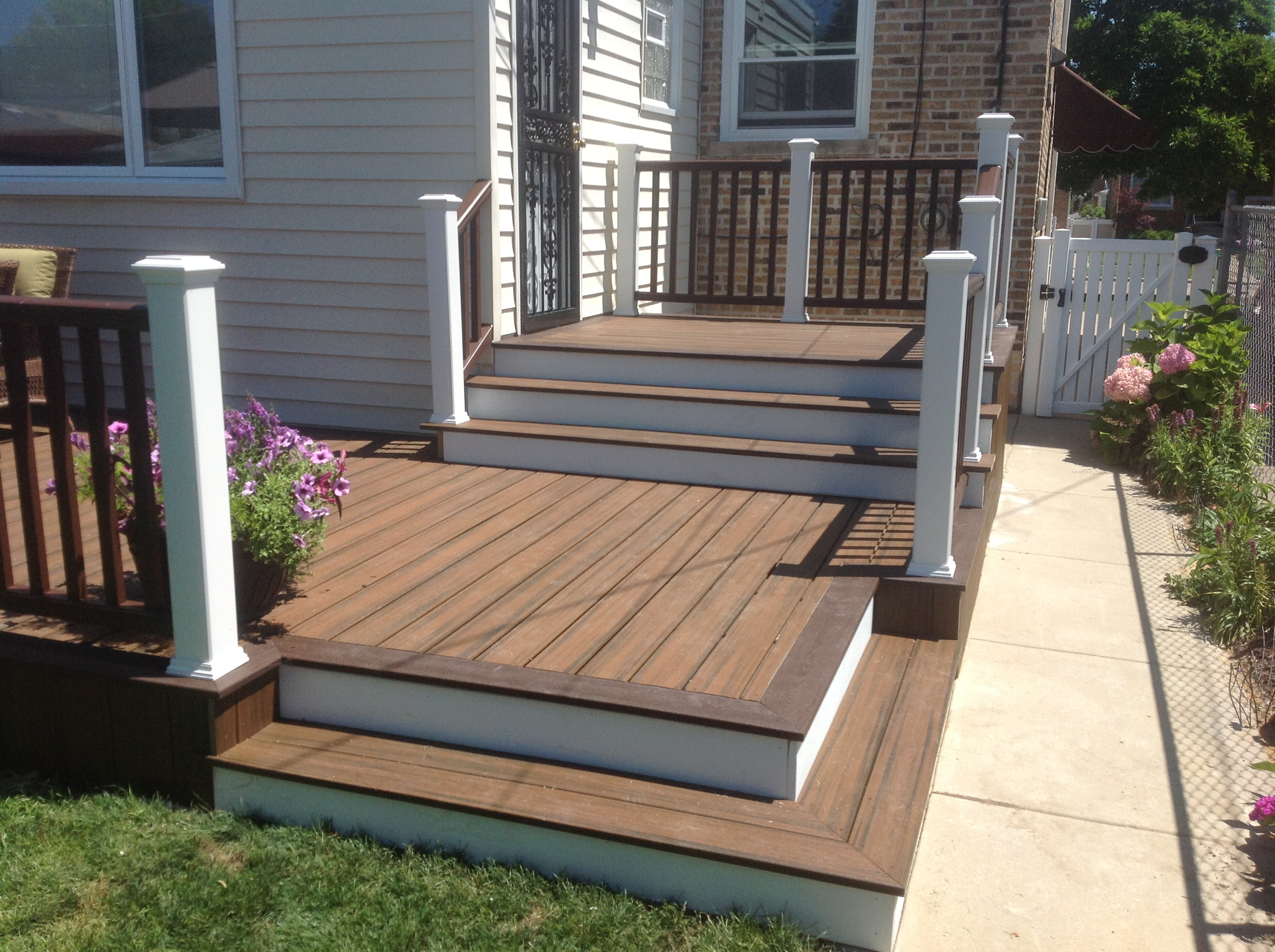Choosing The Right Deck Stain Colors Rustic Woodmen Decks intended for proportions 2592 X 1936
