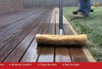 Clean And Reseal Your Wood Deck Just In Time For Summer in sizing 1600 X 900