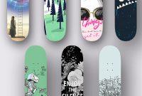 Custom Skate Decks Skatejamcontest On Wacom Gallery in proportions 1200 X 1775