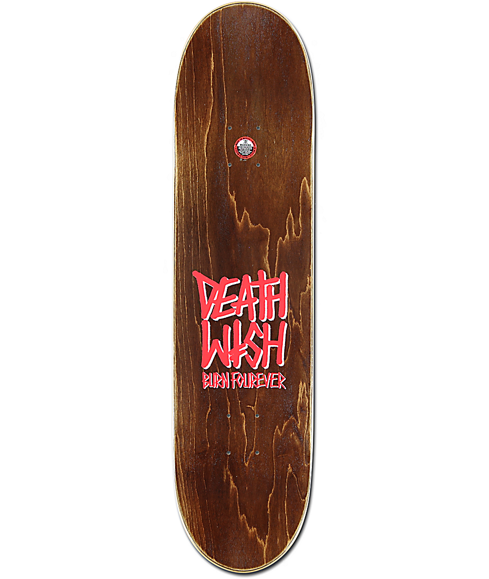 Deathwish X Spitfire Ellington 80 Skateboard Deck Zumiez intended for proportions 1000 X 1184