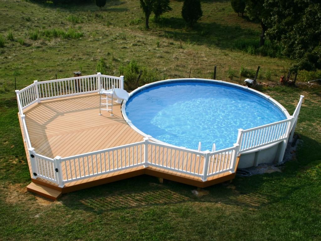Deck Decorating Ideas Pool Decor Pictures Composite Decking For pertaining to sizing 1024 X 768