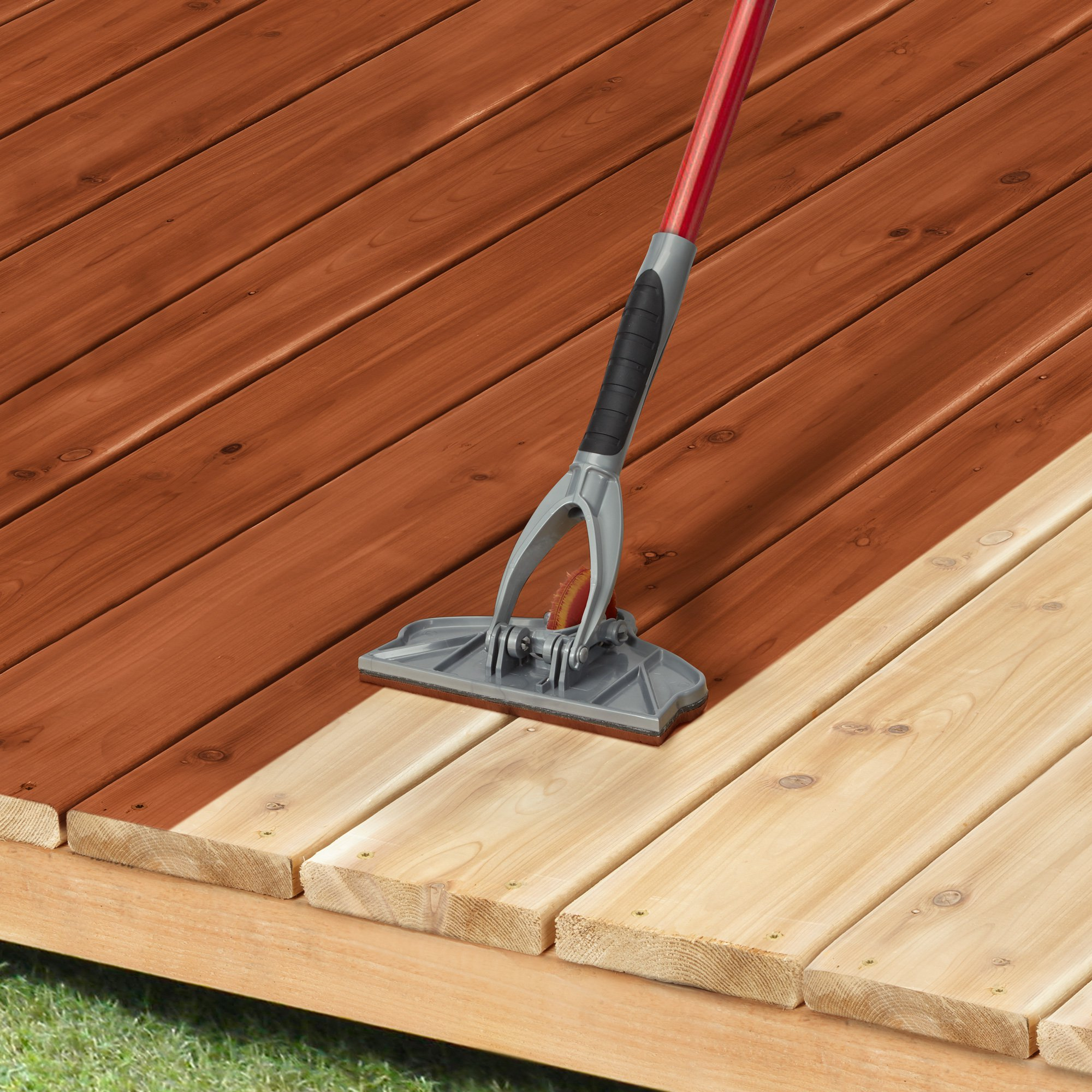 Deck Pro With Gap Wheel Stain Applicator For Staining Between Boards throughout size 2000 X 2000