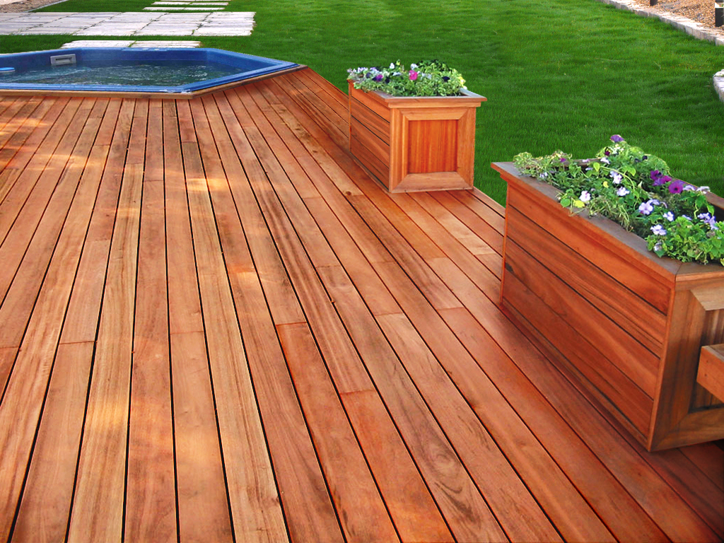 Decking Materials Tag Archive Brazilian Walnut pertaining to proportions 1024 X 768