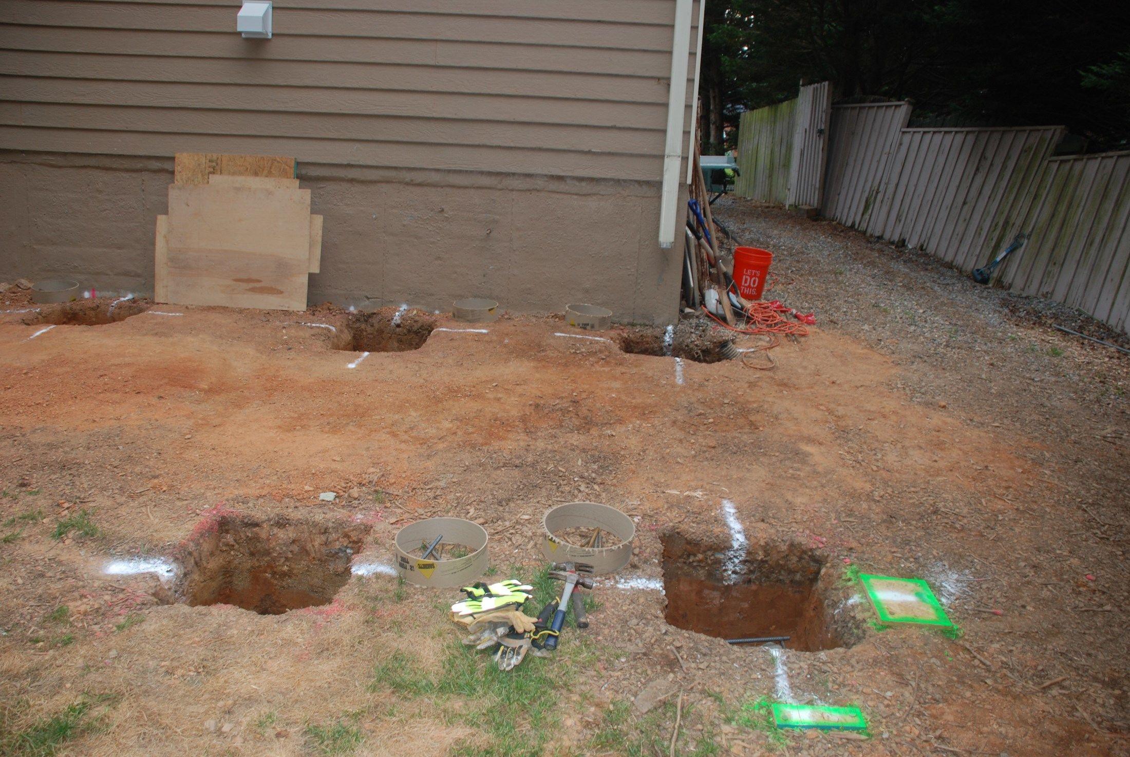 Digging Deck Footings Decks regarding size 2200 X 1473