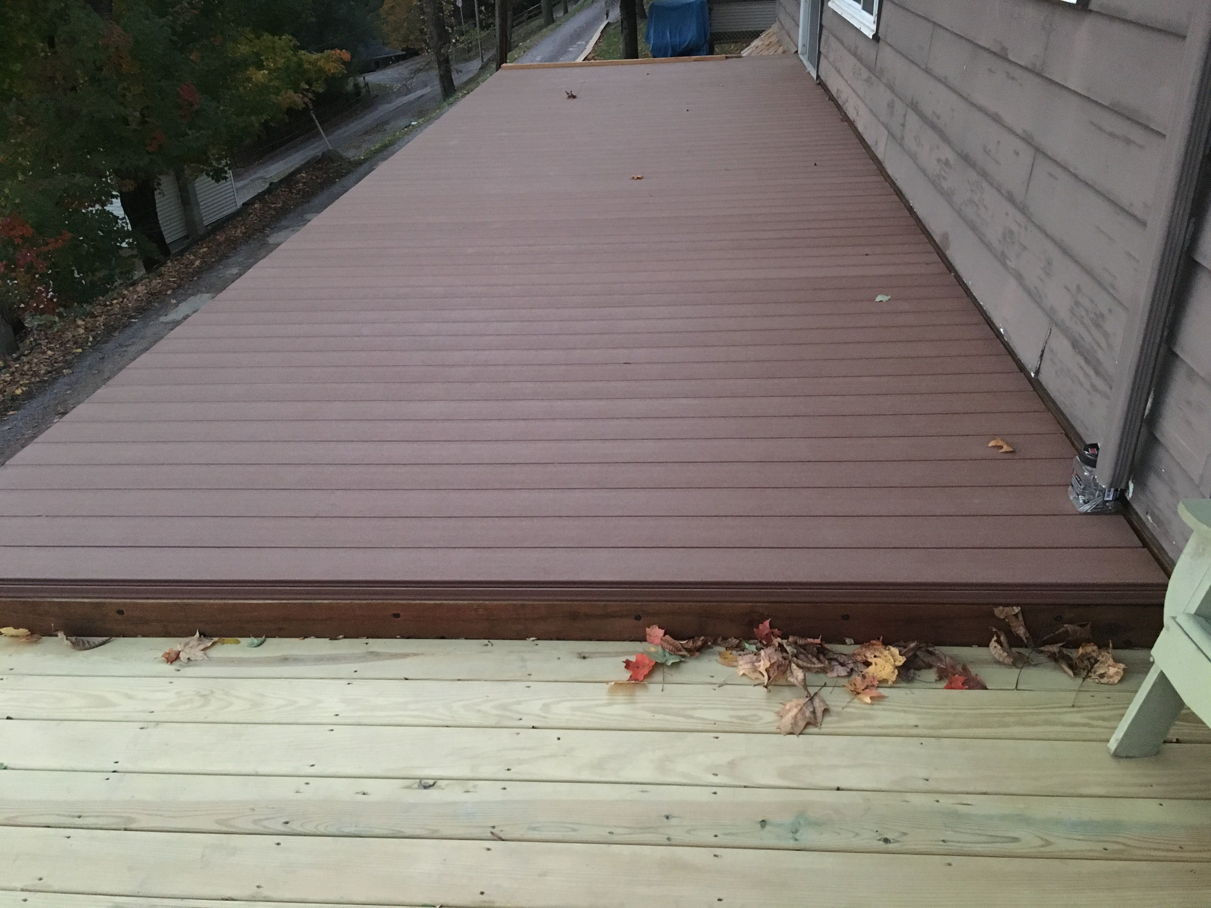 Duxxbak Water Shedding Composite Decking Greenbaydecking Lake intended for dimensions 4032 X 3024