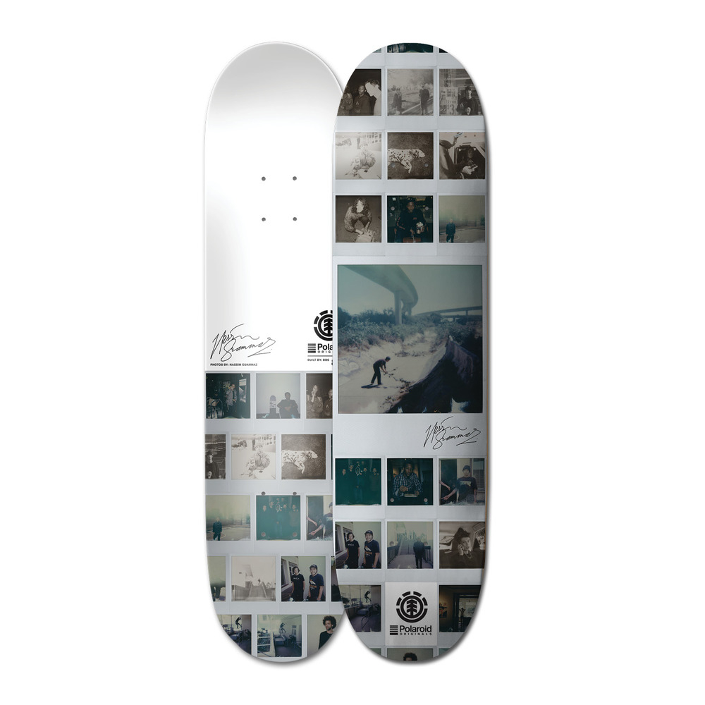 Element Polaroid Nassim Guammaz Skateboard Deck in size 1000 X 1000