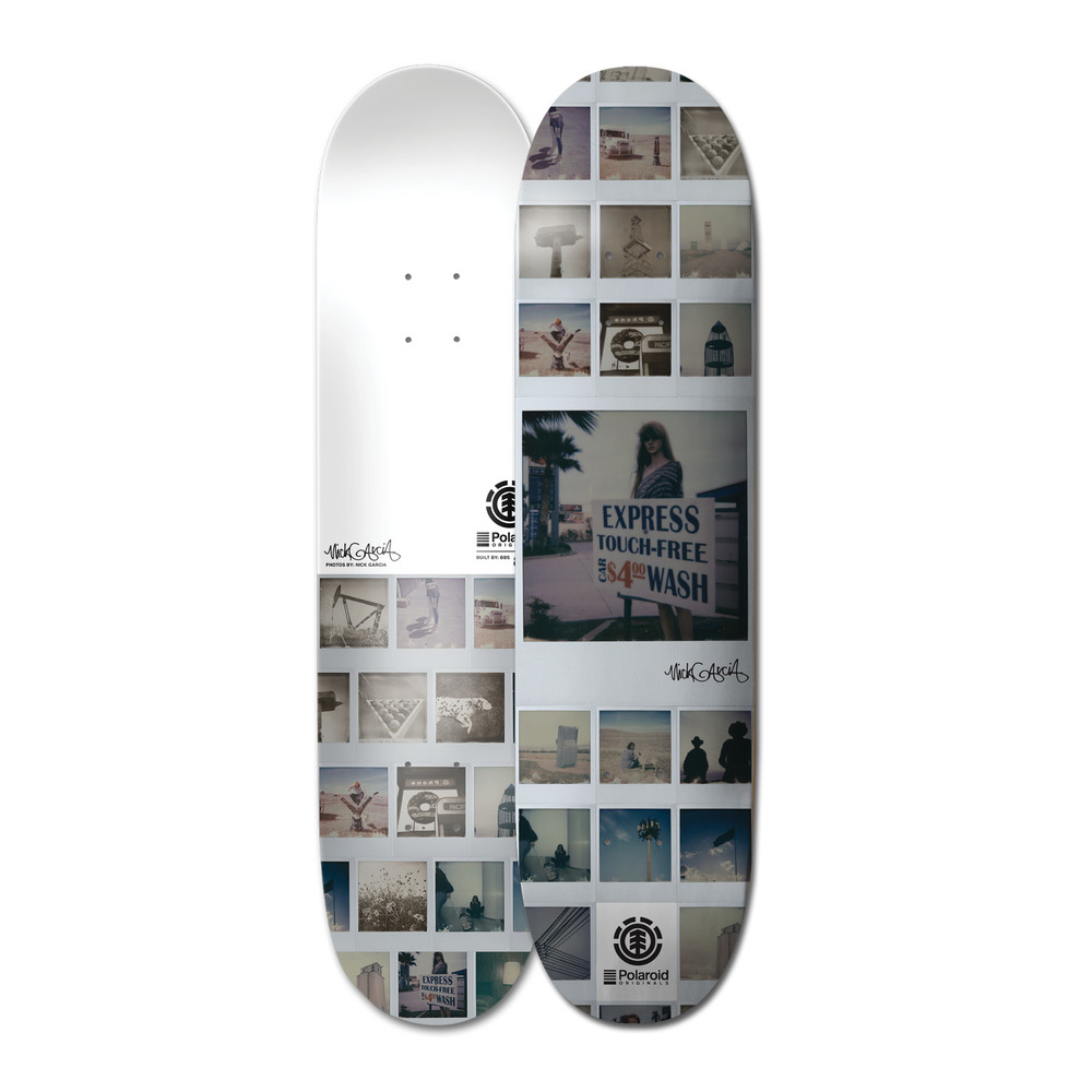 Element Polaroid Nick Garcia Skateboard Deck pertaining to sizing 1000 X 1000