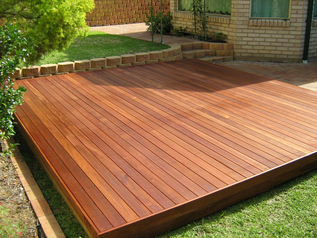Floating Deck Outdoor Dining Building A Floating Deck Floating pertaining to size 1024 X 768