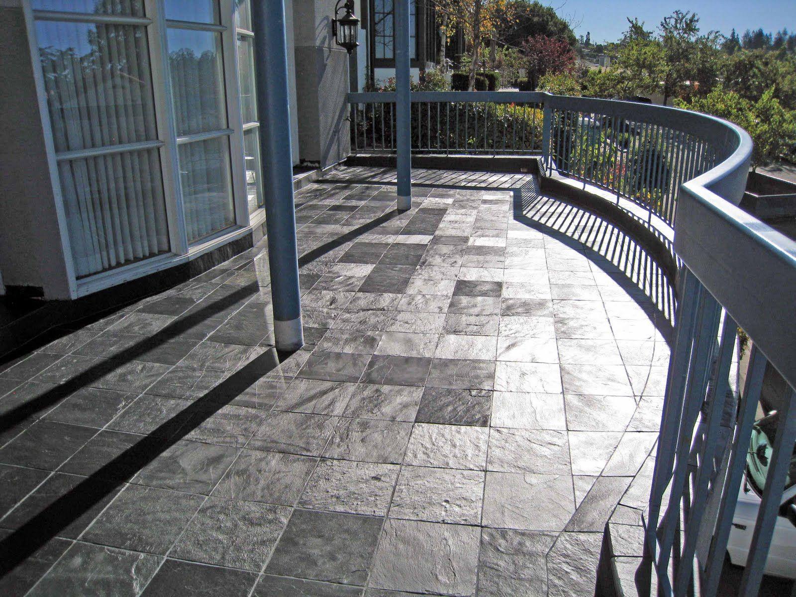 Front Entry Decks Porcelainstone Tile On Outdoor Decks Over regarding dimensions 1600 X 1200