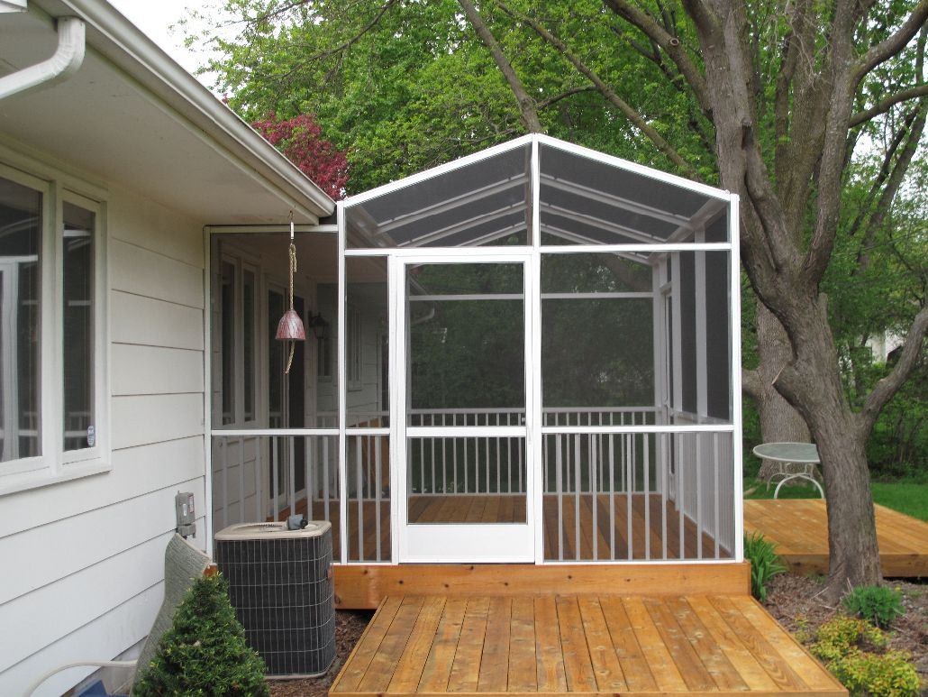 Full Porch Enclosures North Star Screen Systems in sizing 1030 X 773