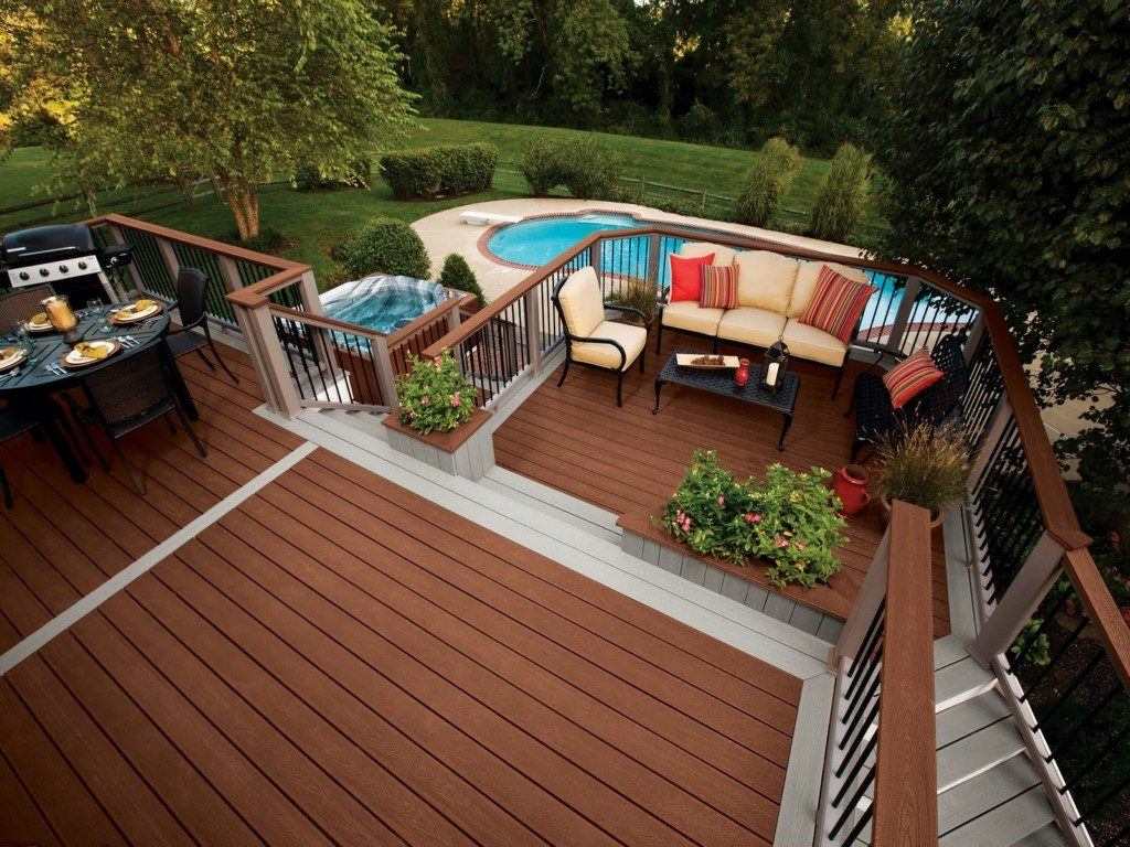 Garden Decking Decorations Pool Deck Decorating Ideas Pictures Mdash throughout measurements 1024 X 768